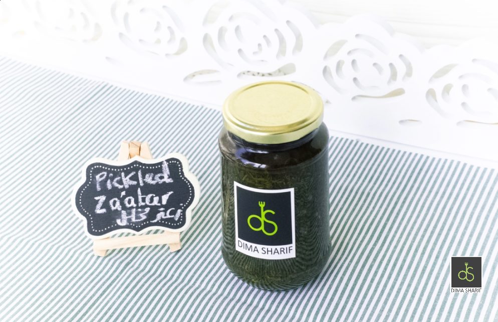 Pickled Fresh Zaatar