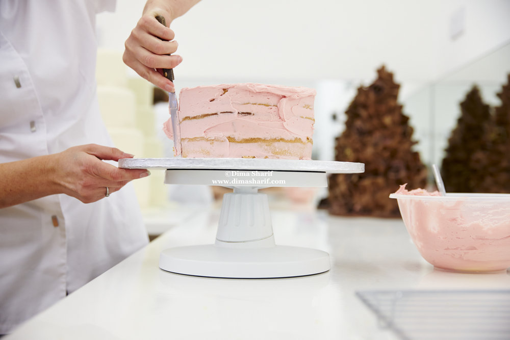 Cake With Buttercream Icing Storage : Vanilla Buttercream Frosting   Dima Al Sharif