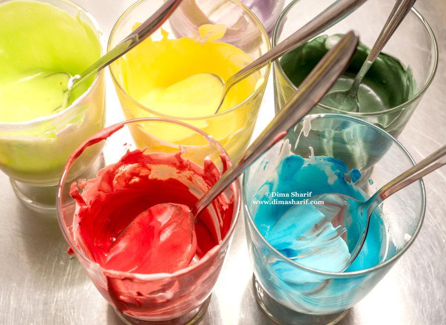 Homemade Vegan Food Colouring – Dima Al Sharif