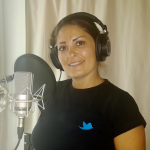 Dima Sharif Recording VO for TV Cookshow