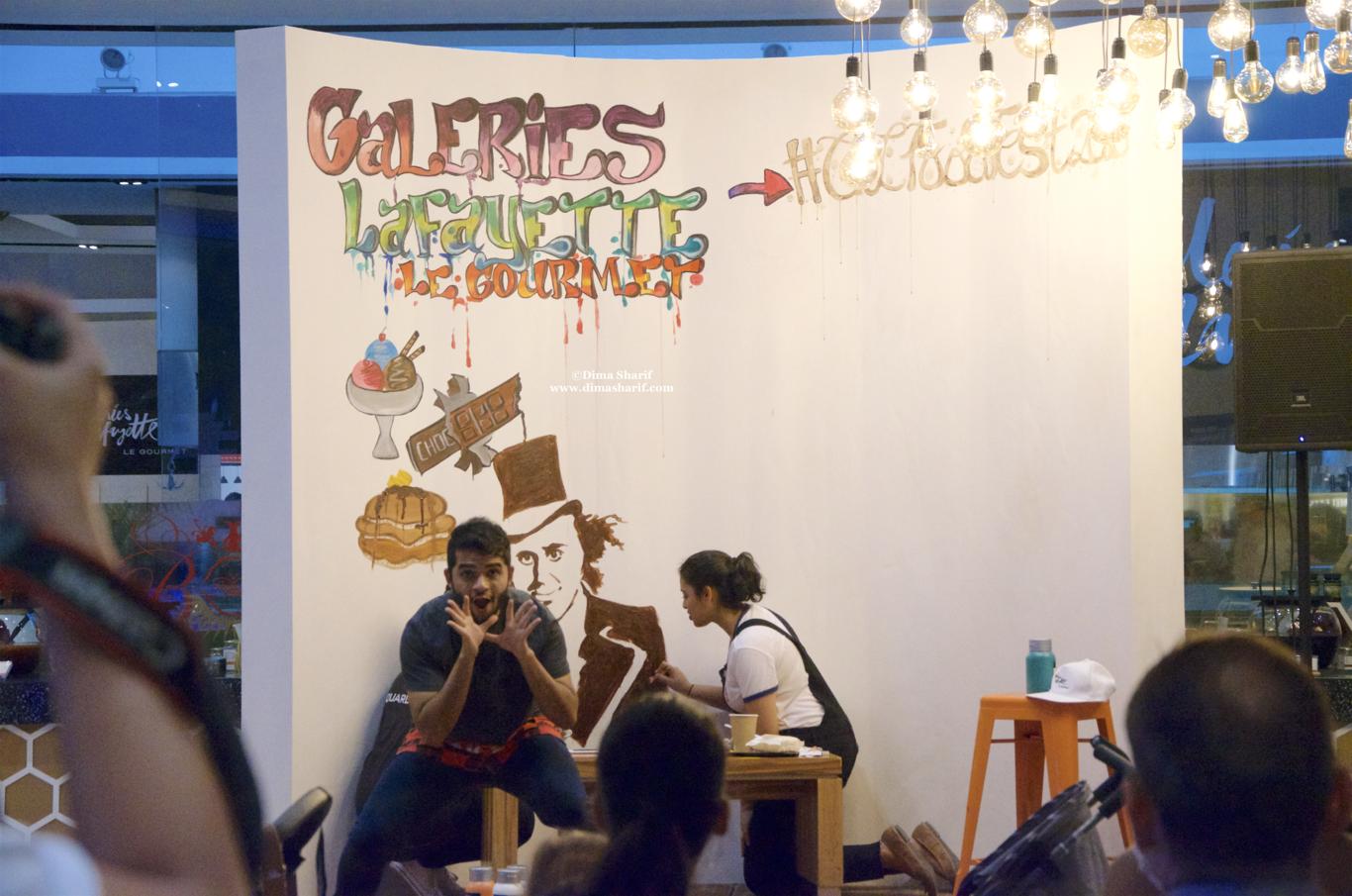 Palestinian Street Food at Galeries Lafayette – Dima Al Sharif